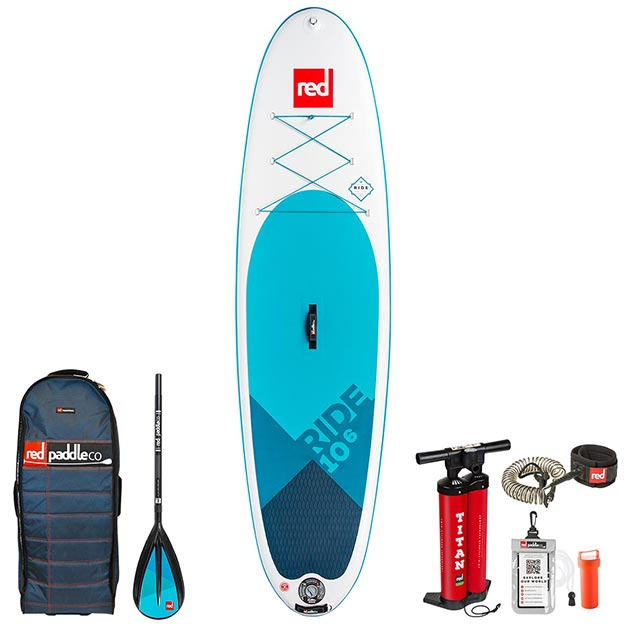 RED Paddle Co 10'6 Ride Paddle Board