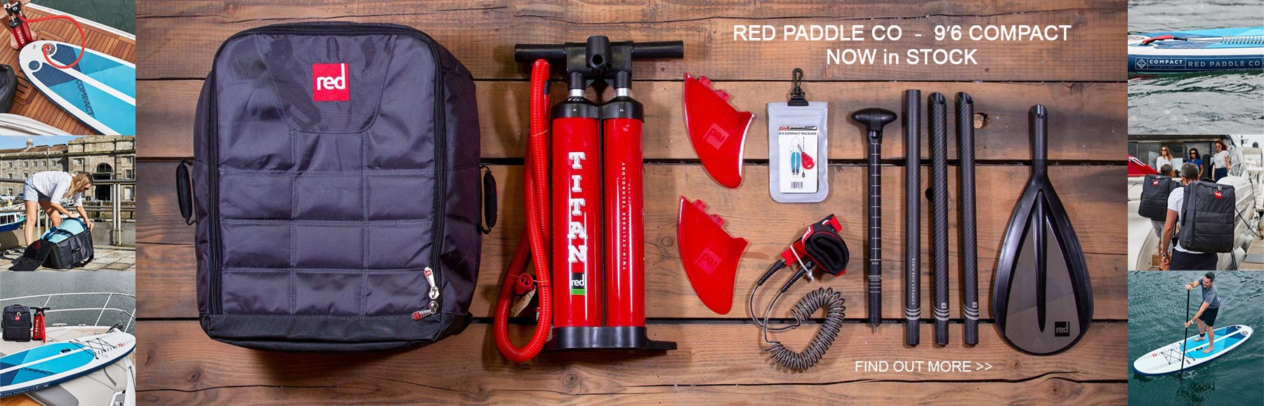 Red Paddle Co Compact Paddleboard