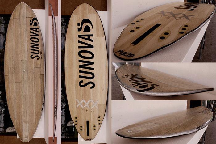 Sunova Paddle board Construction