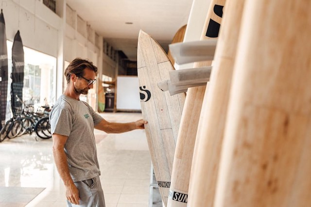 Martin Jandke of Sunova Board Factory Thailand