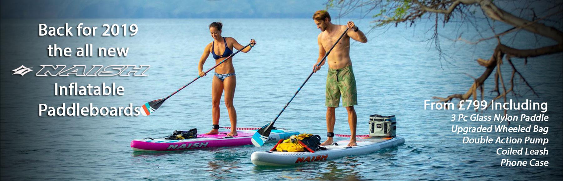 Naish Inflatable Paddle Boards 2019