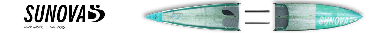 Sunova 2pc Paddle Boards