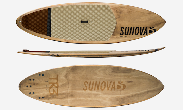 Sunova Flash a James Casey pro-Model Paddleboard