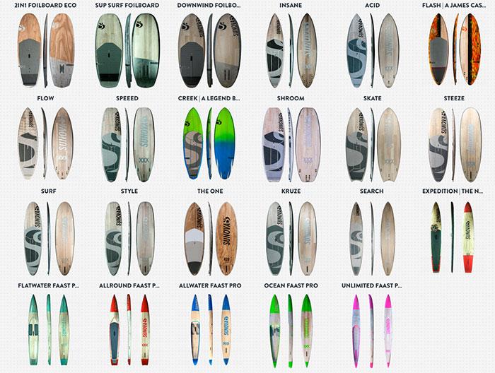 Sunova Paddle Board Range
