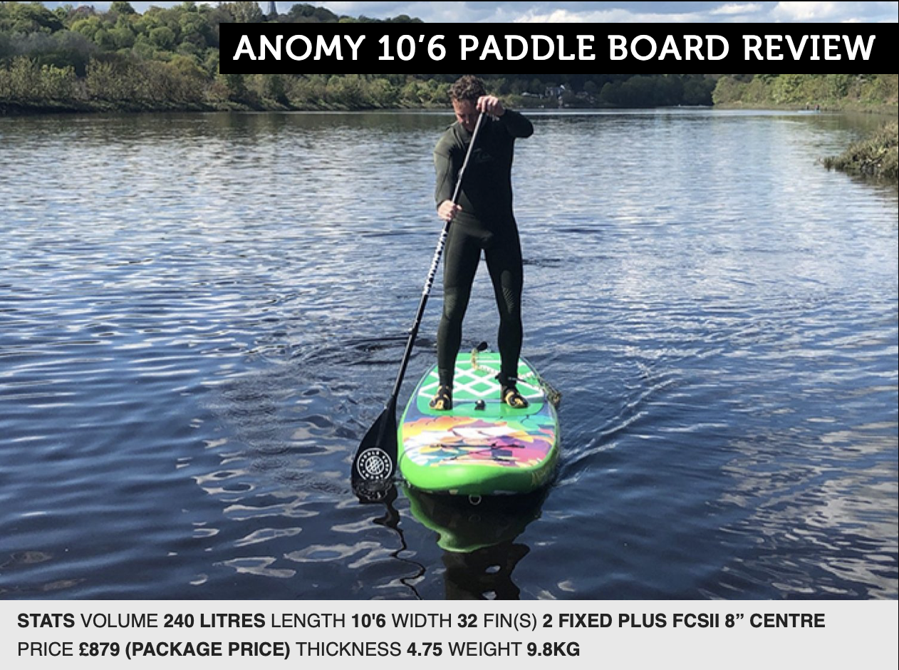 Anomy Paddle Board Review