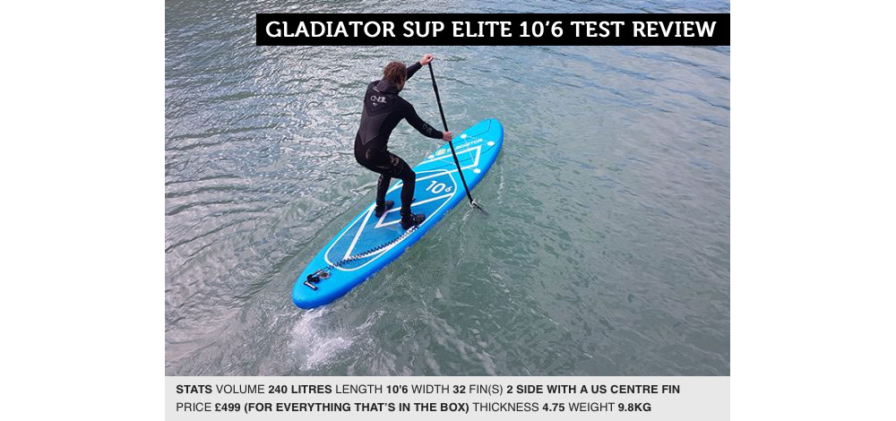 SUP International Gladiator 10'6 Elite Paddleboard Review
